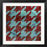 Framed Houndstooth IV