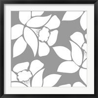 Calyx Floral Framed Print