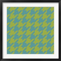 Framed Houndstooth I