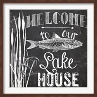 Framed Lake House I