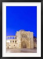 Framed Valencia Cathedral at Dawn, Valencia, Spain