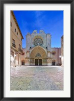 Framed Tarragona Cathedral, Catalonia, Spain
