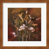 Framed Flora Luminous I