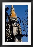 Framed Historic Architecture, Barcelona, Spain