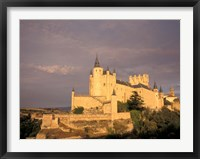Framed Alcazar at Dusk, Segovia, Spain