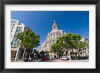 Framed Passeig de Gracia, Barcelona, Spain