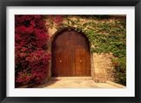 Framed Doorway at Consolat de Mar, Palma de Mallorca, Balearics, Spain