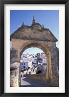 Framed Entry to Jewish Quarter, Puerta de la Exijara, Ronda, Spain