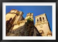 Framed Spain, Andalusia, Cadiz, Arcos De la Fontera Basilica de Santa Maria