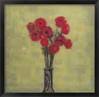 Framed Grande Poppies