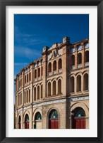 Framed Plaza de Toros Bullring, Puerto de Santa Maria, Spain