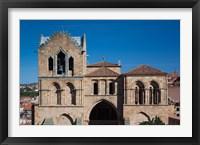 Framed Basilica de San Vicente, Avila, Spain