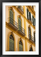 Framed Birth Place of Pablo Picasso, Malaga, Spain
