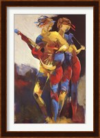 Framed Artist Duet