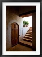 Framed Spain, Granada Alhambra, legendary Moorish Palace, interior details