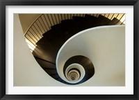 Framed Spiral staircase, Silken Gran Hotel Domine, Bilbao, Spain