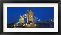 Framed UK, London, Tower Bridge and River Thames