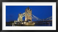 Framed UK, London, Tower Bridge and River Thames