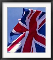 Framed British Flag, England