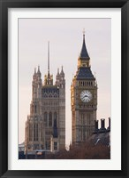 Framed Big Ben Morning, London, England