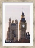 Framed Big Ben Morning, London, England