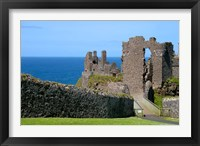 Framed Ireland, Dunluce Castle Ancient Architecture