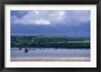 Framed View of Camel River from Padstow, Cornwall, England