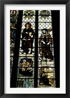 Framed Cathedral, Anglers Window, Winchester, England