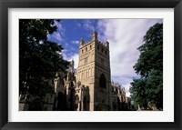Framed Exeter Cathedral, Exeter, Devon, England