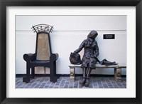 Framed Eleanor Rigby, Liverpool, England