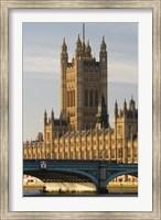 Framed Houses of Parliament, London, England