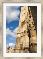 Framed Royal Lion Detail, Westminster, London, England