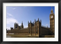 Framed UK, London, Big Ben and Houses of Parliament