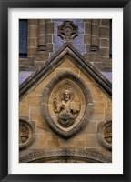 Framed Buckfast Abbey, Devon, England