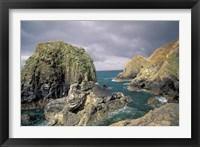 Framed Mullion Cove, Cornwall, England