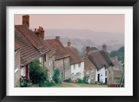 Framed Town Architecture, Shaftesbury, Gold Hill, Dorset, England