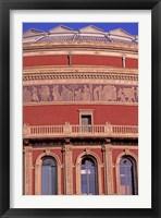 Framed Albert Hall, London, England
