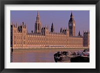 Framed Parliament and Big Ben, London, England