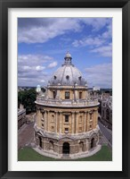 Framed Radcliffe Camera, Oxford, England