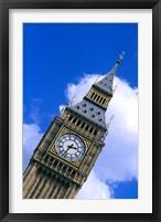 Framed Big Ben in London, England