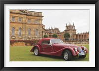 Framed Classic cars, Blenheim Palace, Oxfordshire, England