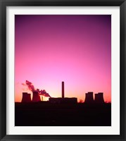 Framed Coal Fired Power Station, Warrington, Cheshire, England