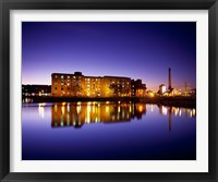 Framed Albert Dock, Liverpool, Merseyside, England