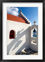 Framed Church, Chora, Mykonos, Greece