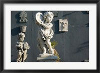 Framed Greece, Ionian Islands, Kefalonia, Cherub Statue