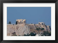 Framed Greece, Athens View of the Acropolis