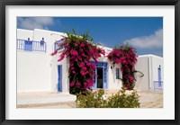 Framed Greek Architecture, Mykonos, Greece