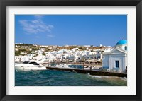 Framed Mykonos, Greece