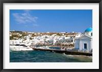 Framed Mykonos, Greece