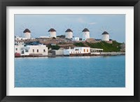 Framed Windmills, Horia, Mykonos, Greece